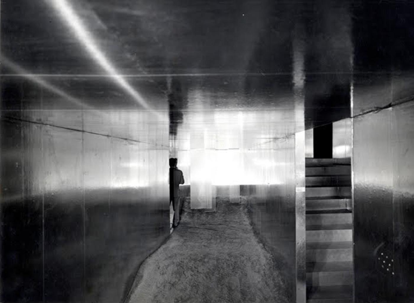 Lucio Fontana and Natanda Vigo, Utopie, 1964, courtesy Triennale of Milan