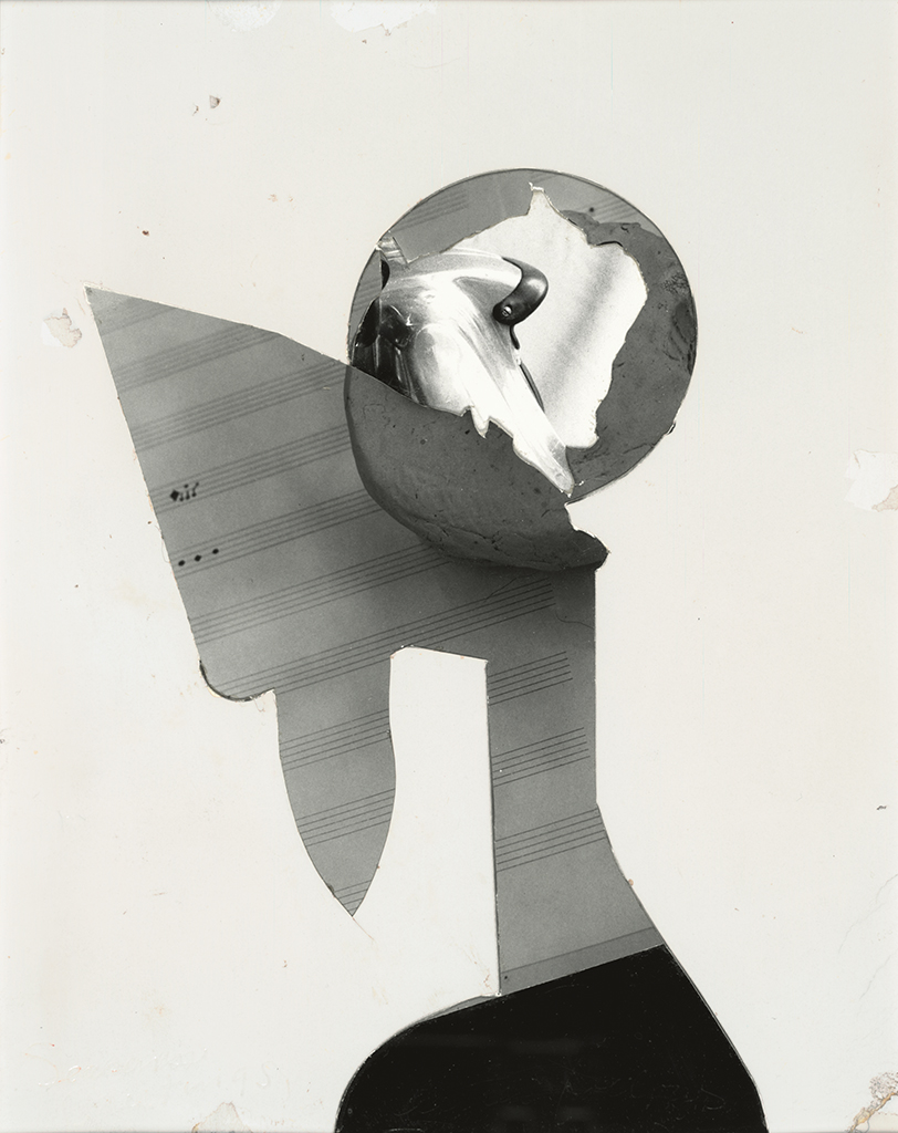Jay DeFeo, Untitled (for B.C.), 1973, photo collage on mat board, 9 3/16 x 7 3/16 inches. Collection SFMOMA. © 2016 The Jay DeFeo Foundation/Artists Rights Society (ARS), New York