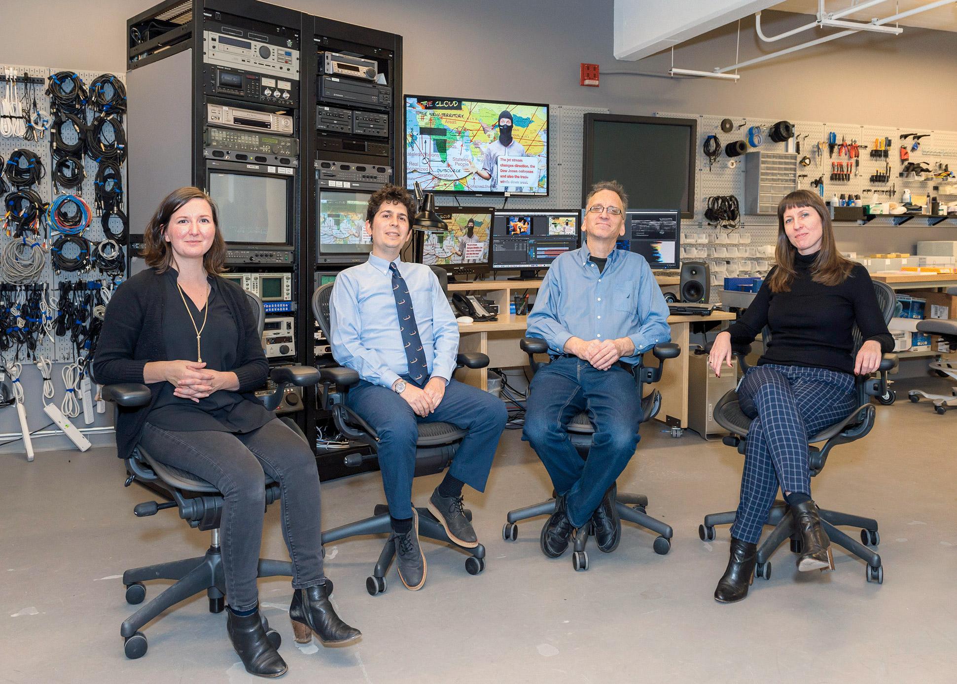 The Guggenheim's time-based media conservation team