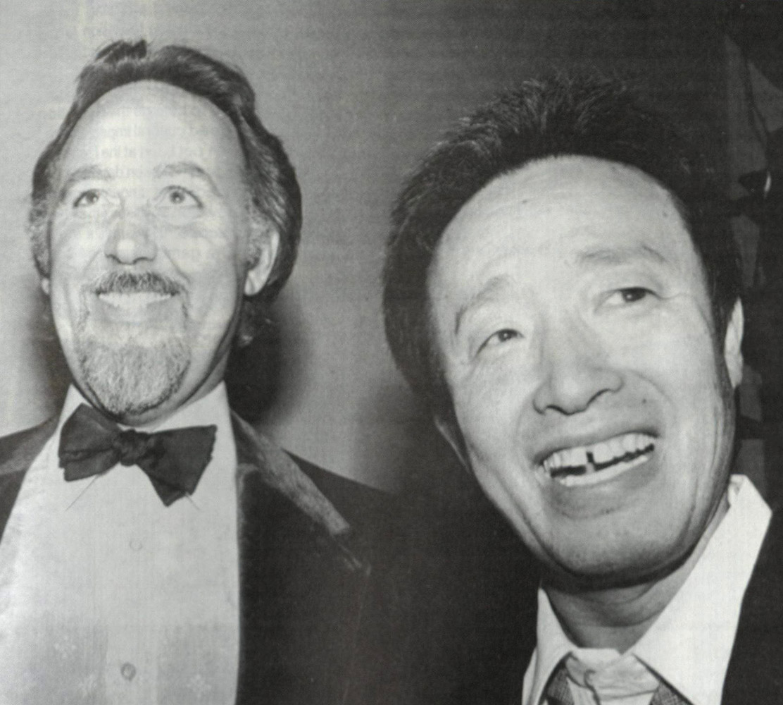 Howard Klein and Nam Jun Paik